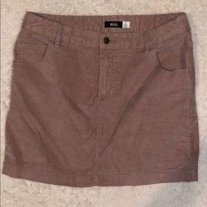 Like new! BDG dusty pink corduroy mini skirt